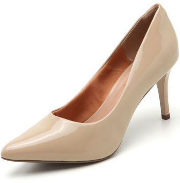 Scarpin Thelure Liso Nude Thelure
