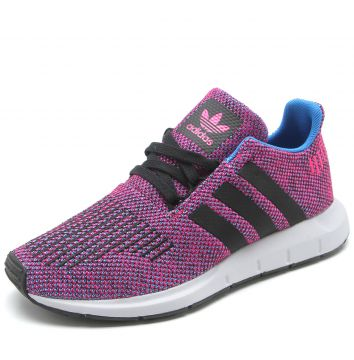 Tênis adidas Originals Swift Run J Roxo adidas Originals