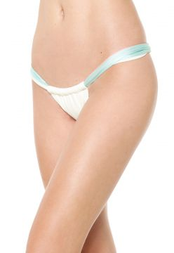 Calcinha Blue Man Tanga Super Tri Off-White Blue Man