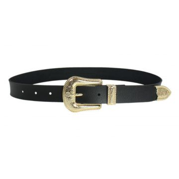 Cinto Higher Gold Western Belt Sintetico Higher