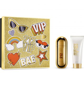 Kit Perfume 212 VIP CH 50ml Carolina Herrera