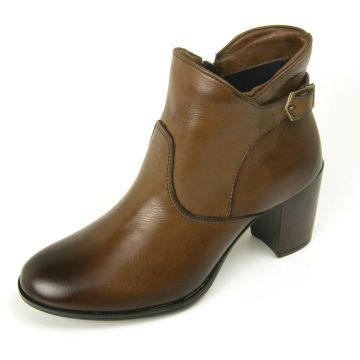 Bota Cano Curto Over Boots Any Caramelo Over Boots
