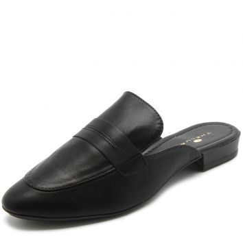 Mule Thelure Liso Preto Thelure