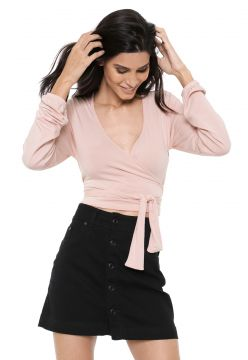 Blusa Cropped Hurley Transcend Rosa Hurley