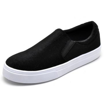 Tênis Casual Slip On BELLATRIX Preto BELLATRIX