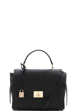 Bolsa Michael Kors Cassie Md Th Preto Michael Kors