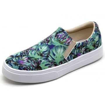 Tênis Casual Slip On BELLATRIX Floral BELLATRIX