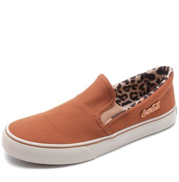Slip On Coca Cola Iate Join Caramelo Coca Cola Shoes
