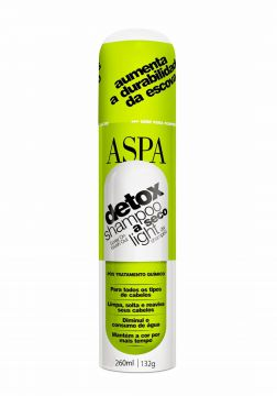 Aspa Detox Shampoo A Seco Light 260ml Aspa
