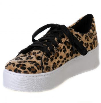 Tênis Butique de Sapatos Animal Print Onça Butique de Sapat