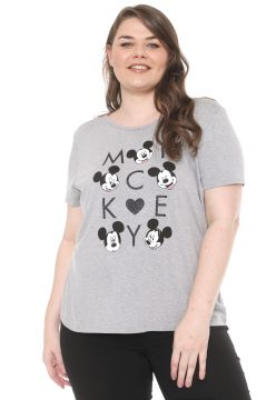 Blusa Cativa Disney Plus Mickey Cinza Cativa Disney Plus