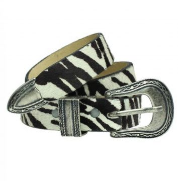 Cinto Higher Zebra Print Belt Higher