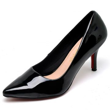 Scarpin Casual Bellatrix Preto BELLATRIX