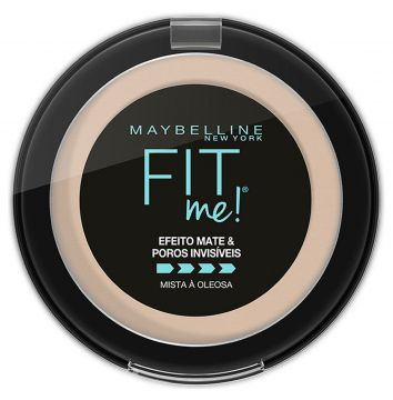 Pó Compacto Fit Me B01 Super Claro Bege Maybelline