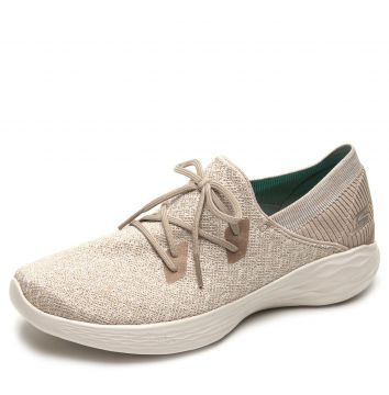 Tênis Skechers You - Exhale Bege Skechers