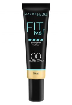 Corretivo Maybelline Fit Me Amarelo Maybelline