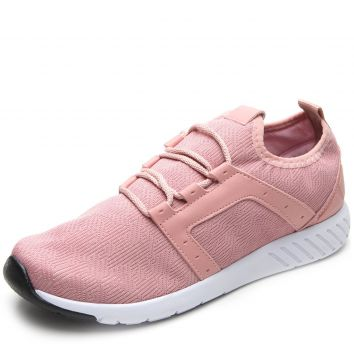 Tênis DAFITI SHOES Têxtil Rosa DAFITI SHOES