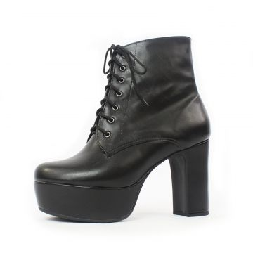 Bota Damannu Shoes Debbie Napa Preto Damannu Shoes