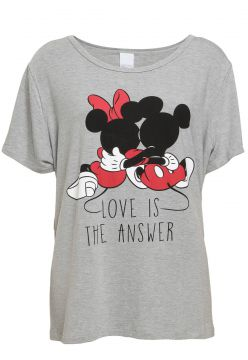 Blusa Cativa Disney Plus Love Cinza Cativa Disney Plus