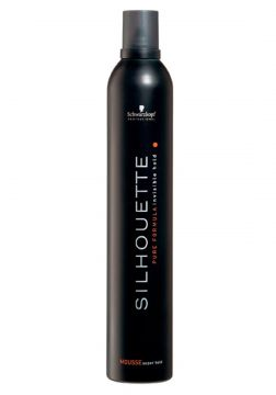 Silhouette Mousse Super Hold - Extra Forte 500ml Schwarzkop