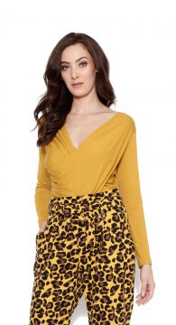 Blusa Lucy in the sky manga longa Amarelo Lucy in The Sky