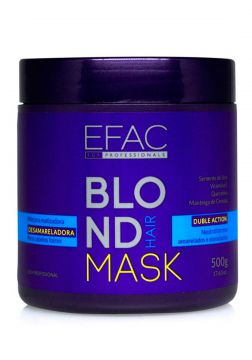 Máscara Matizadora EFAC Blond Hair - 500g EFAC For Professi