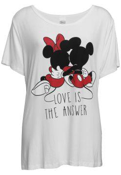Blusa Cativa Disney Plus Love Branca Cativa Disney Plus