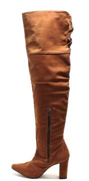 Bota Over Knee Sapatotop Shoes Caramelo Sapatotop Shoes