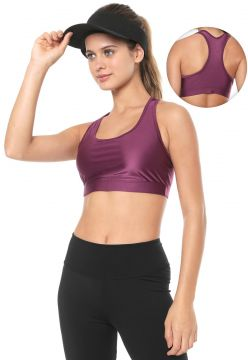 Top BODY FOR SURE Liso Roxo BODY FOR SURE