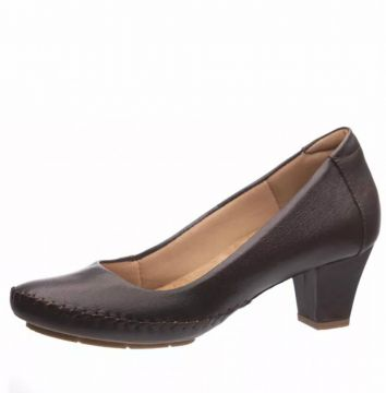 Scarpin Doctor Shoes 791 Marrom Doctor Shoes