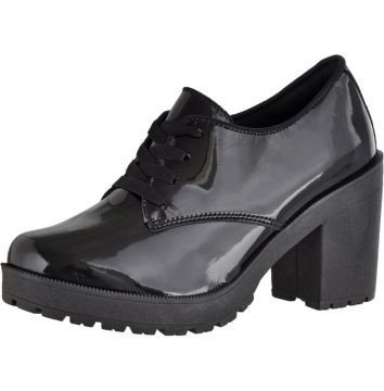 Oxford CRSHOES Tratorado Verniz Preto CRSHOES
