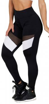 Calça Legging Hardcore Line Magic Black-White Hardcore Line