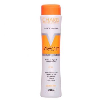 Charis Condicionador Vivacity Reflex Blond 300ml Charis