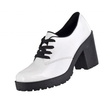 Oxford CRSHOES Tratorado Verniz Branco CRSHOES