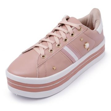 Tênis Casual CRISTAISHOES Nude CRISTAISHOES