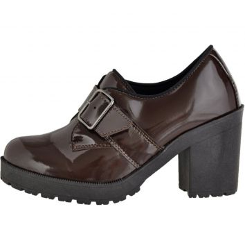 Oxford CRSHOES Tratorado Verniz Cafe CRSHOES