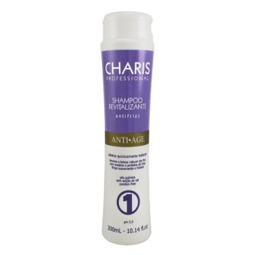 Charis Shampoo Revitalizante Anti Age 300ml Charis