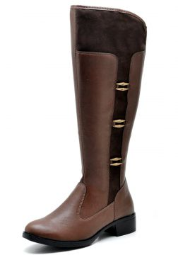 83897d0c21e13 Bota Over The Knee JUILLI Bota Joelho 11652M Capuccino Marr