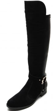 Bota Over The Knee Vizzano Fivela Preta Vizzano