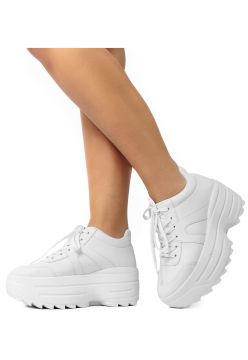 Tênis Chunky Sneaker Donna Damannu Shoes Branco Damannu Sho