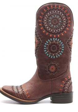 Bota Elite Country Tucson Omaha Marrom Elite Country