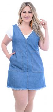 Vestido Attribute Jeans Bolso Jeans Attribute Jeans