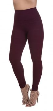 Calça Legging Miss Blessed Bandagem Marsalla Miss Blessed