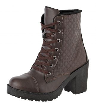 Bota Coturno Tratorada CRSHOES Cafe CRSHOES