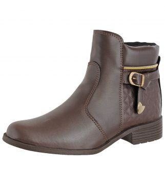 Bota Coturno Crshoes Cafe CRSHOES