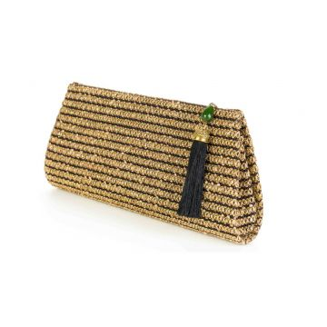 Clutch Palha Lurex A Clutch