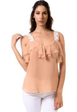 Blusa BloomChiffon com Babados Bloom
