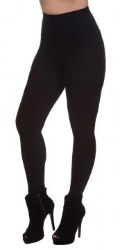 Calça Legging Miss Blessed Bandagem Preto Miss Blessed