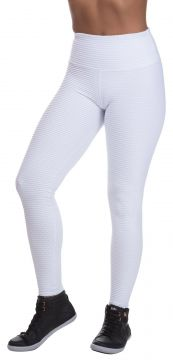 Legging Miss Blessed Colmeia Branco Miss Blessed