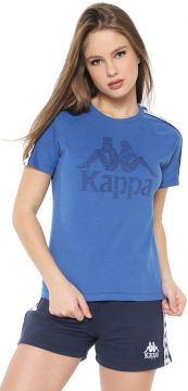 Blusa Kappa Authentic Azul Kappa